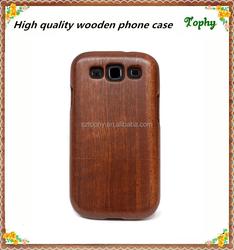 Oem custom mobile phone cases wood s3 case for samsung case