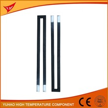 China hgh silicon carbide electric ceramic heating pipes electric water heating rod