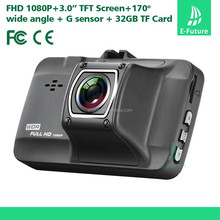 2015 New Products 3.0inch All alloy structure Car DVR Camera