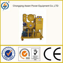 Dependable performance recover completely anti-oxidability transformer oil filtration plant