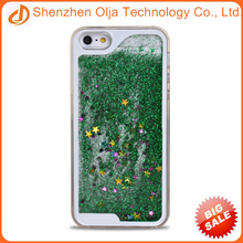 Most popular 3D liquid glitter star phone case for iPhone 6