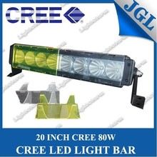 5JG-LG-T680 off road led 20'' euro beam light bar mounts roll bar light mount 4WD led light bar amber