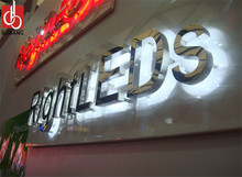business led outdoor advertising letters alphabet