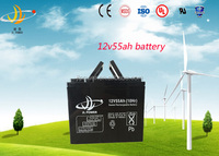 12v55AH Solar battery Back-up battery exide ups battery for home / security system / solar power system