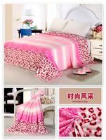 100%polyester pillow blanket plush blanket factory direct fabric flannel fleece blanket