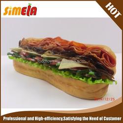 Simela artificial food of fake sandwich