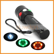 NEW Custom 3 Color LED Traffic Signal Light Flashing Signal Torch