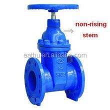 chain wheel gate valve
