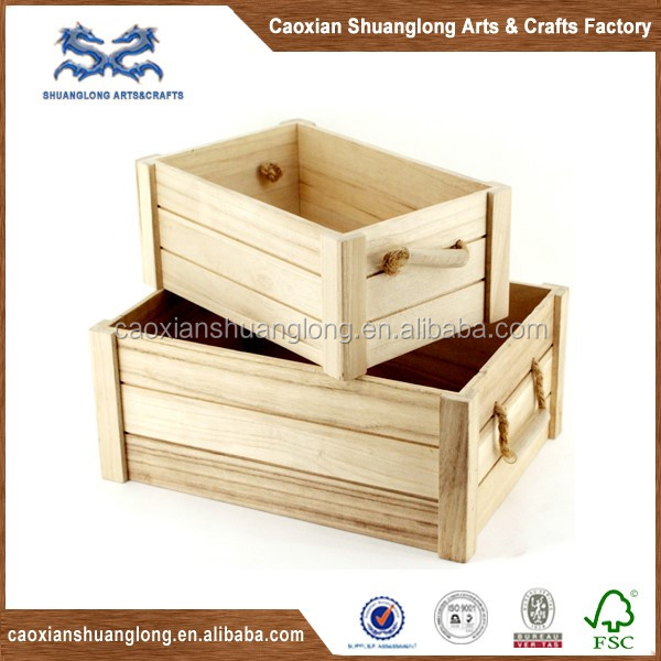 Wholesale cheap vintage wooden wine bottle crates for Vintage crates cheap