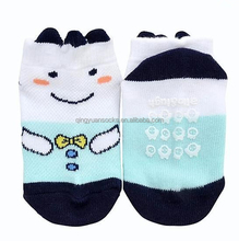 New fashion custom anti-slip new born wholesale baby cotton tube socks