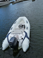 Liya Luxury Yacht Type RIB boats with CE 3.8m yatch PVC boats inflatables