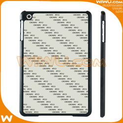 Custom Sublimation Blank plastic Case for iPad mini 1/2/3