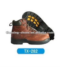 metal free leather safety shoes