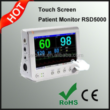 7 Inch Touch Screen Multi Parameter Patient Monitor