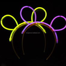 fluorescence glow bunny ears for kids toys