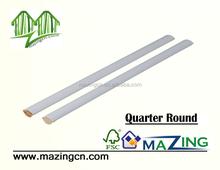 Quarter Round Austrilian wood moulding prime board
