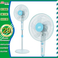 plastic material 3 speed pedestal fan with air cooler