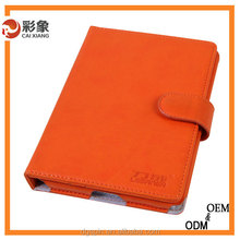 2015 latest design Belt Clip Leather Stand Case for ipad mini,Wallet Case for mini ipad With Sleep and Wake Function