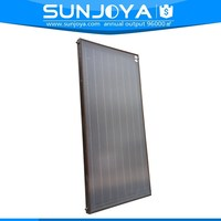 Flat Plate All Copper Absorber Hot Water Heatig Pressurized Solar Thermal Collector