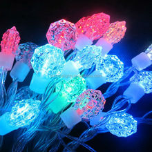 Diamond rgb led christmas lights