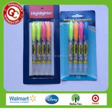 wholesale unique twin tip erasable highlighter marker pen