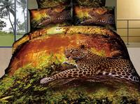 hot sale bedding set 100%cotton animal 3d comforter set 3d bedspread