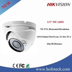 Hikvision 720 TVL Horizontal Resolution hikvision 360 degree ip camera