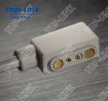 magnetic electrical DC power connector