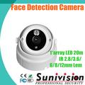 cmos sensor de detección de la cara de auto zoom de la cámara del cctv cámara