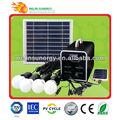 portátil de casa kit de energía solar para la iluminación