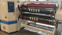 Automatic film cutting machine/film slitting cutting machine/plastic film jumbo roll slitting machine