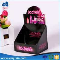 Design lipstick packaging paper merchandising display box