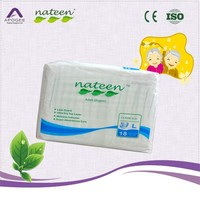 Adult diaper A grade stock in warehouse