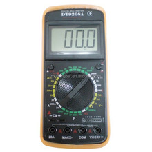 DT-9208A+ Probe Leads Multi-Tester Digital Multimeter Test Equipment AC/DC