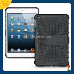 2015China wholesale! tablet hard shockproof case cover for Apple ipad mini 4