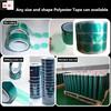 ISO9001&14001 Certified Similar 3M Green PET Masking Tape