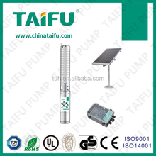 TAIFU the first and best solar irrigation pumps manufacturing companies water pump 4TSSC12-77-150/1500