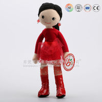 Mini children favorite soft doll stuffed plush dolls