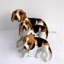 hot sale promotion high quality fashion lovely cute plush beagle dog toys