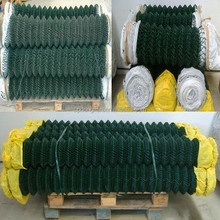 hot dipped galvanized chain link fence&diamond wire mesh (Manufacturer)