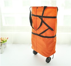 Alibaba trolley shopping bag with chair & vegetable shopping trolley bag