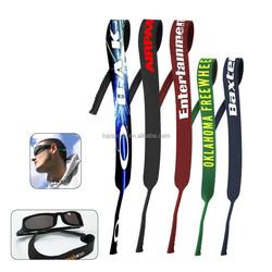 Eco-friendly Manufacture Insulated Cheap Fashion Design Summit Creative Wayfarer Customize Colorful Neoprene Sunglass Belt
