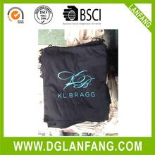 fashion recyclable custom design printed small shopping canvas cotton drawstring bag 2015071335