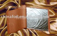 Genuine Silver Leaf for gilding with furniture,wooden frame,temple etc.