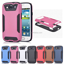New Bling Bicolor Matted Shockproof Hard Case For Samsung Galaxy S3