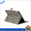 Ladys Love Leopard Print Hair Leather Case For iPad 2 3 4
