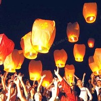 Chinese factory sky lanterns flying paper lantern
