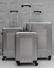 2015 newly designed simple but eye-cathing pc trolley luggage