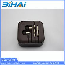 2014 New design XIAOMI Piston earphones with mic for Xiaomi Mi2 Mi2A Mi2S Mi3