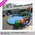 atractivo venta caliente inflable parque acuático de diversiones para los adultos